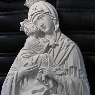 Крест с Богородицей Почаевской, подвеска