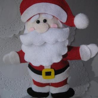 Дед Мороз из фетра.