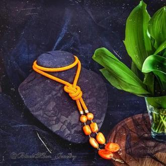 Лариат Оранжевый