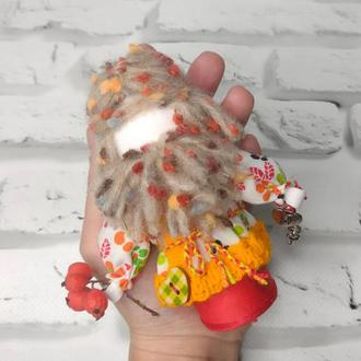 Кукла мотанка Домовой, оберег дома, оберег семьи