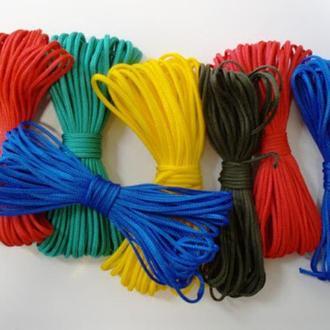 Шнур полипропиленовый вязаный