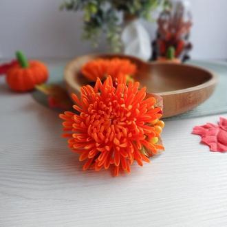 Хризантема резинка /заколка