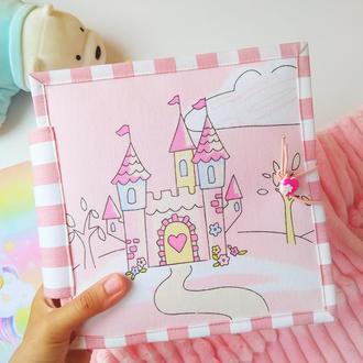 Ляльковий будиночок | ляльковий будиночок з фетру | книга з фетру
