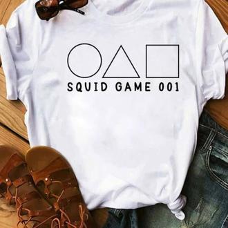 Футболка с принтом Мерч Игра в кальмара (오징어게임) Squid Game 18 Push IT