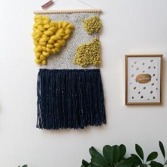 Макраме панно, настенное украшение, декор для дома и интерьера
