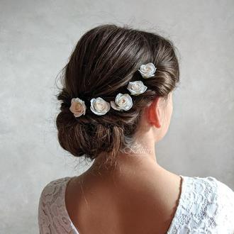 Свадебные украшения для волос, шпильки для волос