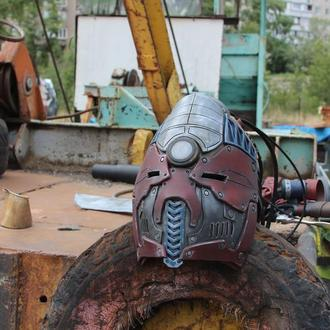 Шлем в стиле Sci-Fi.