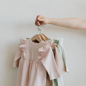Детское платье для девочки из 100% хлопка