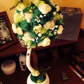 Топиарий - дерево счастья🤗