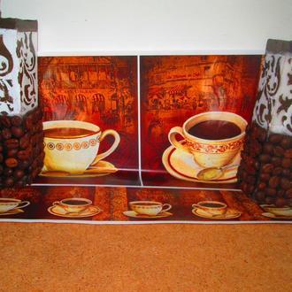 Кофейные свечи с росписью