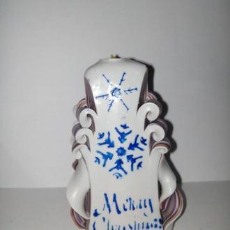свічки ручної роботи з новорічною тематикою