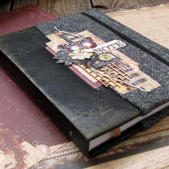 Винтажный блокнот. Купить оригинальный подарок.