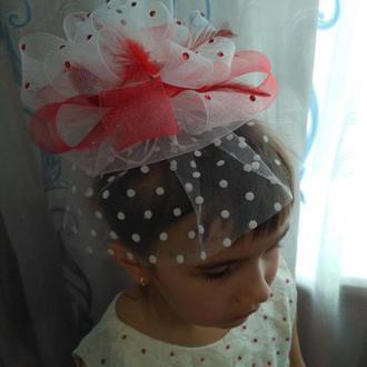 Шляпка-вуалетка «Маленькая леди»
