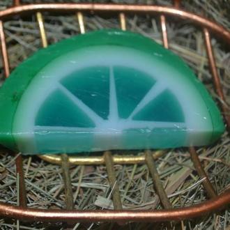 «Лайм» - увлажняющее и регенерирующее натуральное мыло ручной работы из коллекции «Цитрусовые»