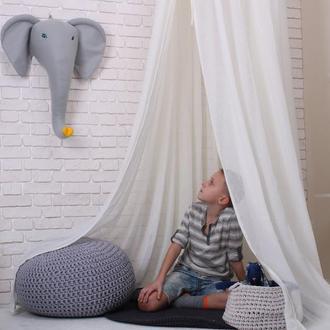 Слон голова на стену