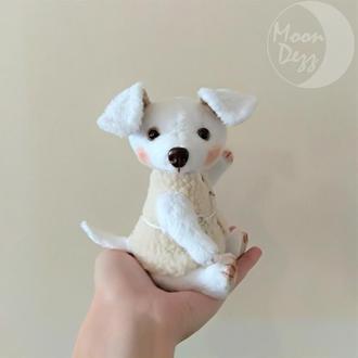 Интерьерная игрушка плюшевый щенок