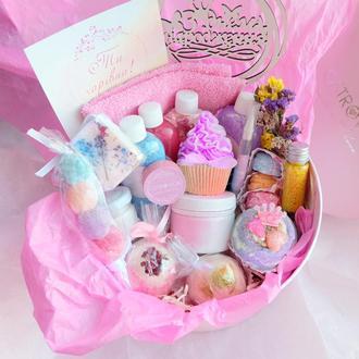 Подарочный набор бокс «Счастье есть», подарок девушке, жене, подруге,сестре на день рождения,