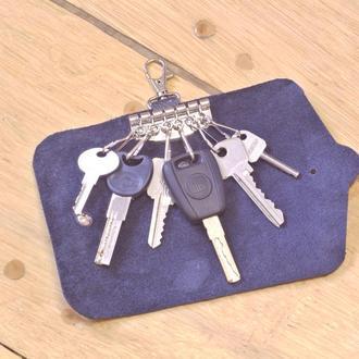 Ключниця шкіряна 6 ключів (шкіра) Кожаная ключница кожа