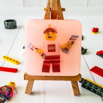 Детское мыло с картинками из мультфильмов Лего