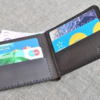 Бумажник небольшого размера из натуральной кожи K10-450