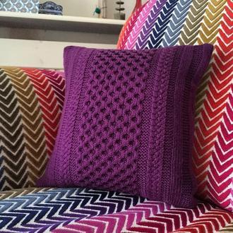 Подушка диванная декоративная Соты