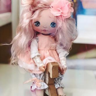 Кукла текстильная интерьерная/игровая