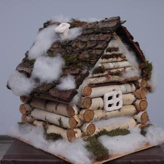 Домик Деда Мороза. Новогоднее украшение под елку.