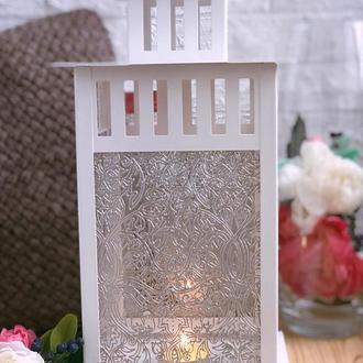 Декоративный светильник с ручной росписью