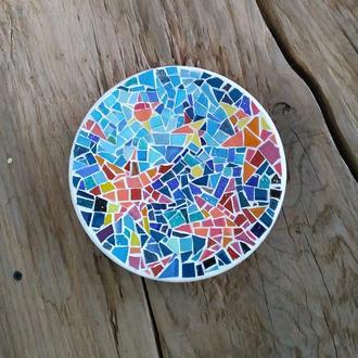 Декоративна тарілочка, мозаїка