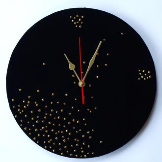 Часы настенные «Черный бархат», арт. «018Л».