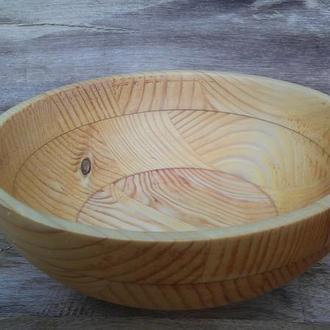 Деревянная миска  ,блюдо
