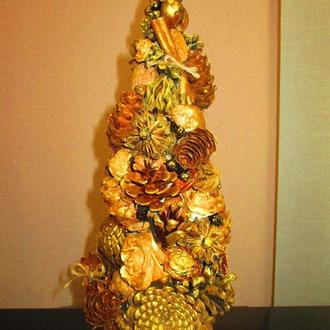Новогодняя рождественская эко- елочка