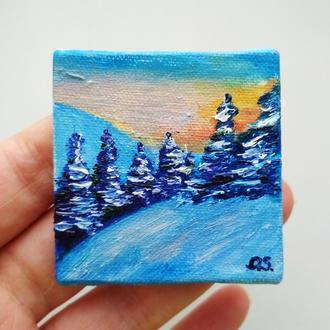 Зимушка ( миниатюра )