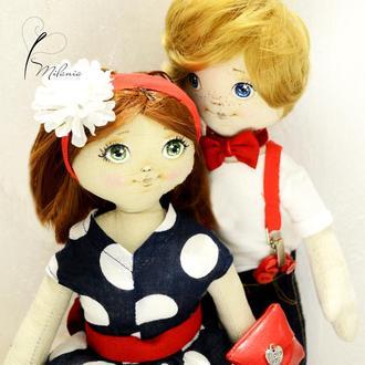 Портретная куколка, подарок на годовщину, кукла по фото