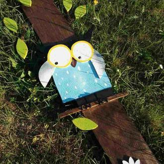 Садовые фигурки, совы (набор)