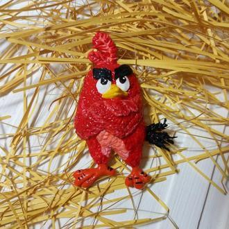 Магнитик на холодильник (Angry birds)