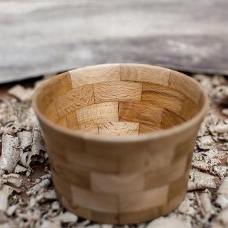 Деревянная конфетница , пиала , ваза  из дерева бук