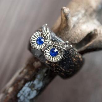 перстень с совой