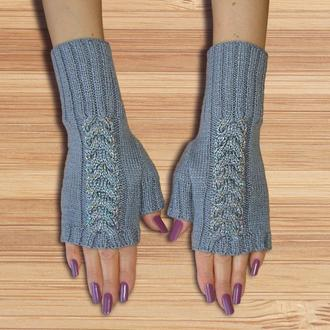 Митенки - перчатки без пальцев georgeous style