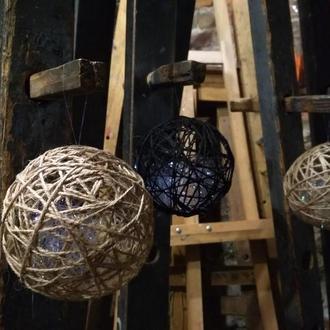 """Ялинкові кульки / ёлочные шары """"Noir XL"""""""