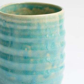 Бирюзовый стакан