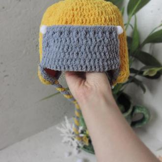 Зимова шапка для хлопчика