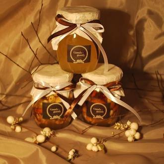 Орехи с медом ассорти