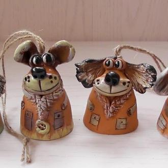 Колокольчики  Беззаботные собачки