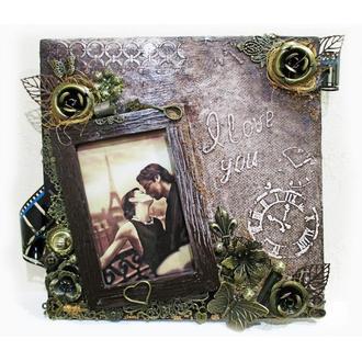"""Фоторамка для фото 10х15 """"Sweet memories"""" Стильный подарок на день рождения или годовщину свадьбы"""