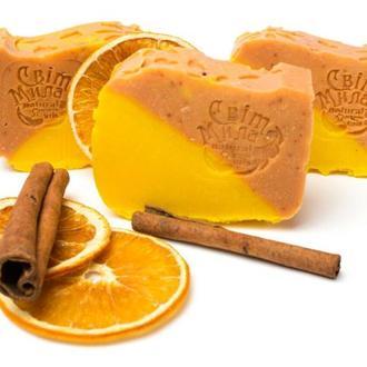 Мыло корица и лимон.