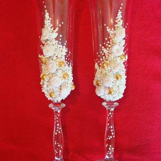 Весільні бокали