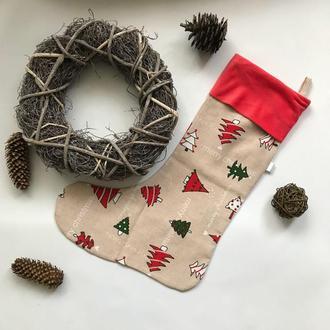 Новорічний чобіток для подарунків