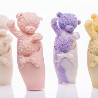 Мишка Тедди мыло