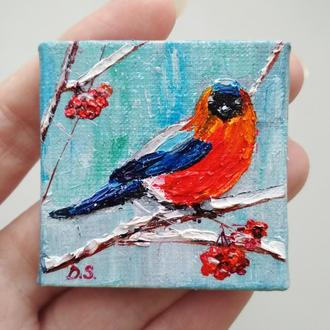 Зимняя птица (миниатюра)